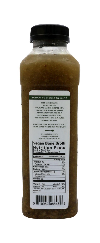 Splendid Spoon Fresh Vegan Drinkable Soup: SS Vegan Facts