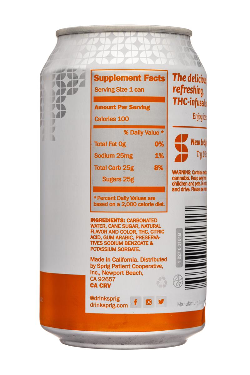 Sprig: Sprig-12oz-THC-CitrusSoda-Facts