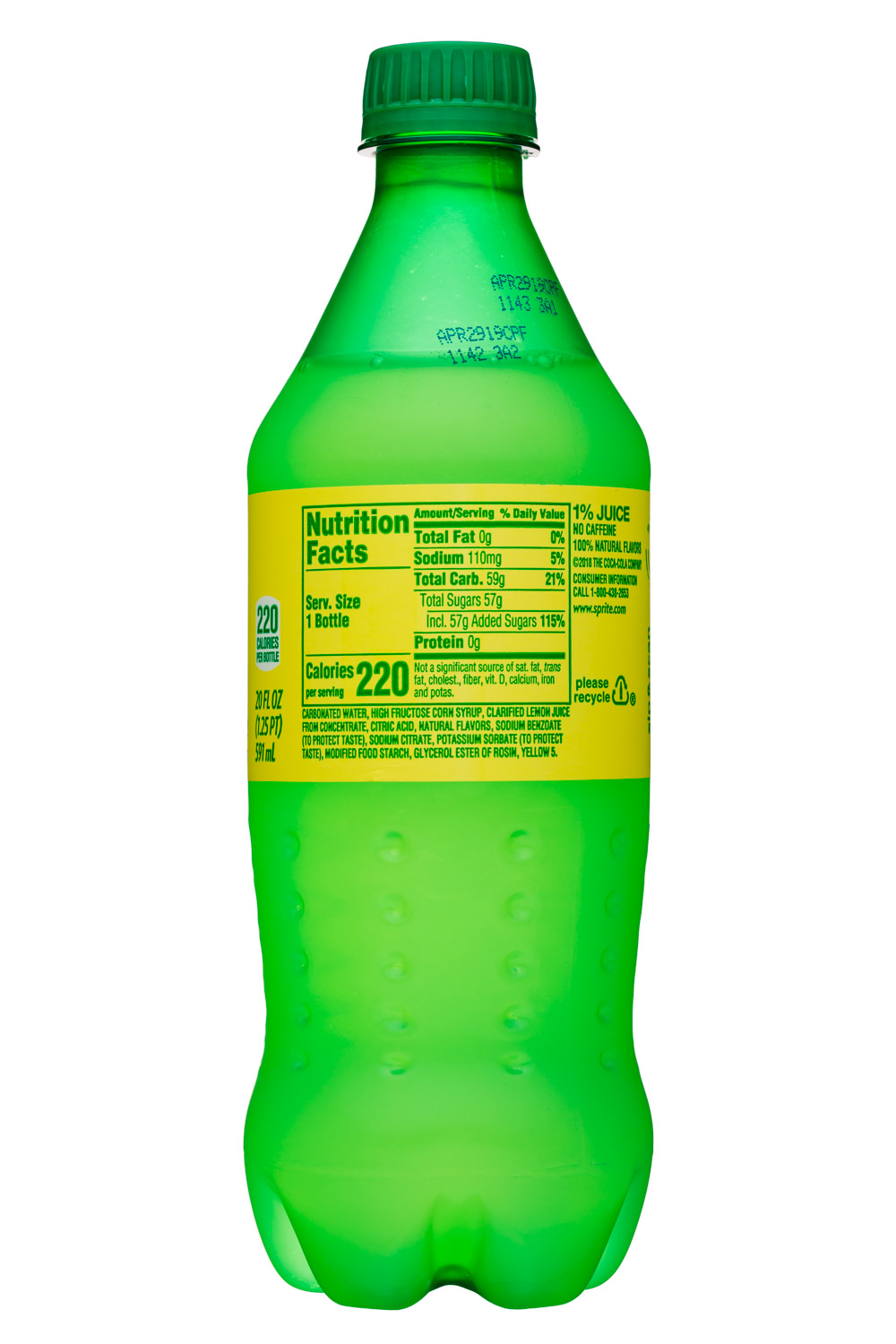 Sprite: Sprite-20oz-Lymonade-Facts