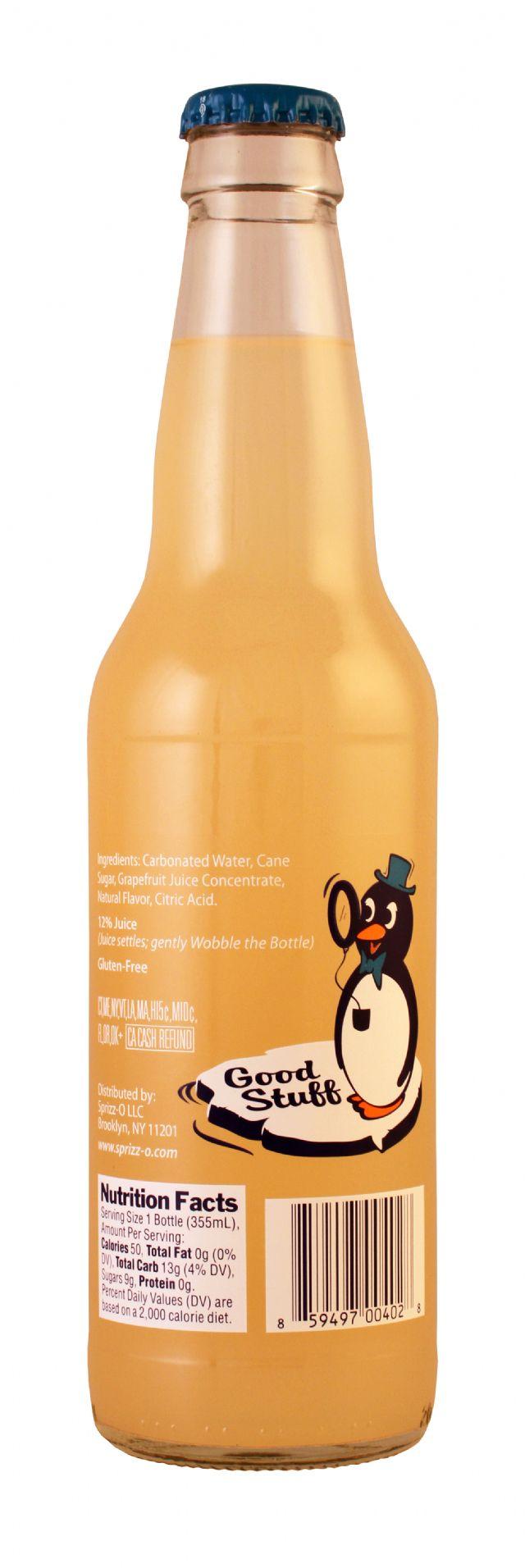 Sprizz-O: Sprizzo Grapefruit Facts