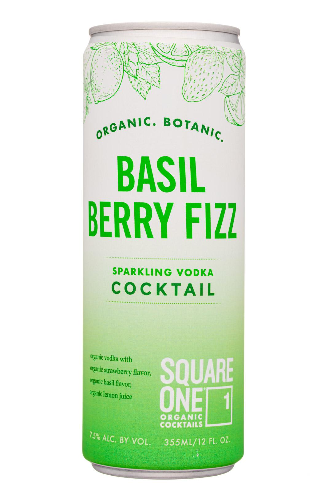 Basil Berry Fizz