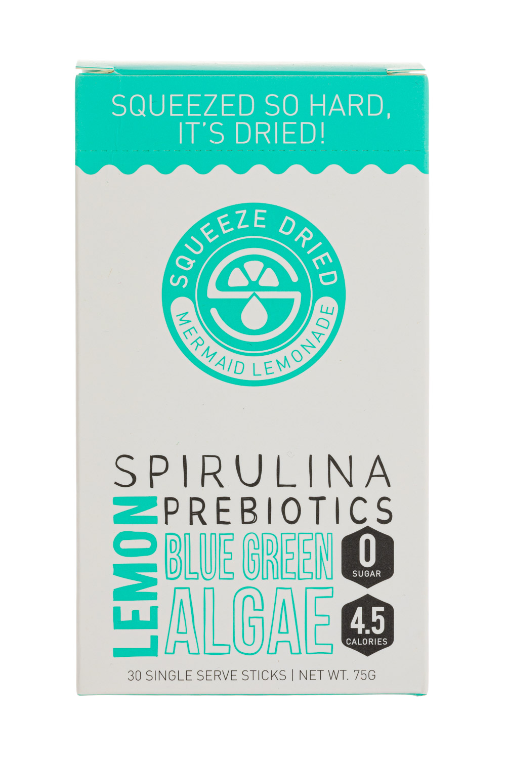 Spirulina Blue Green Algae Prebiotics - Lemon