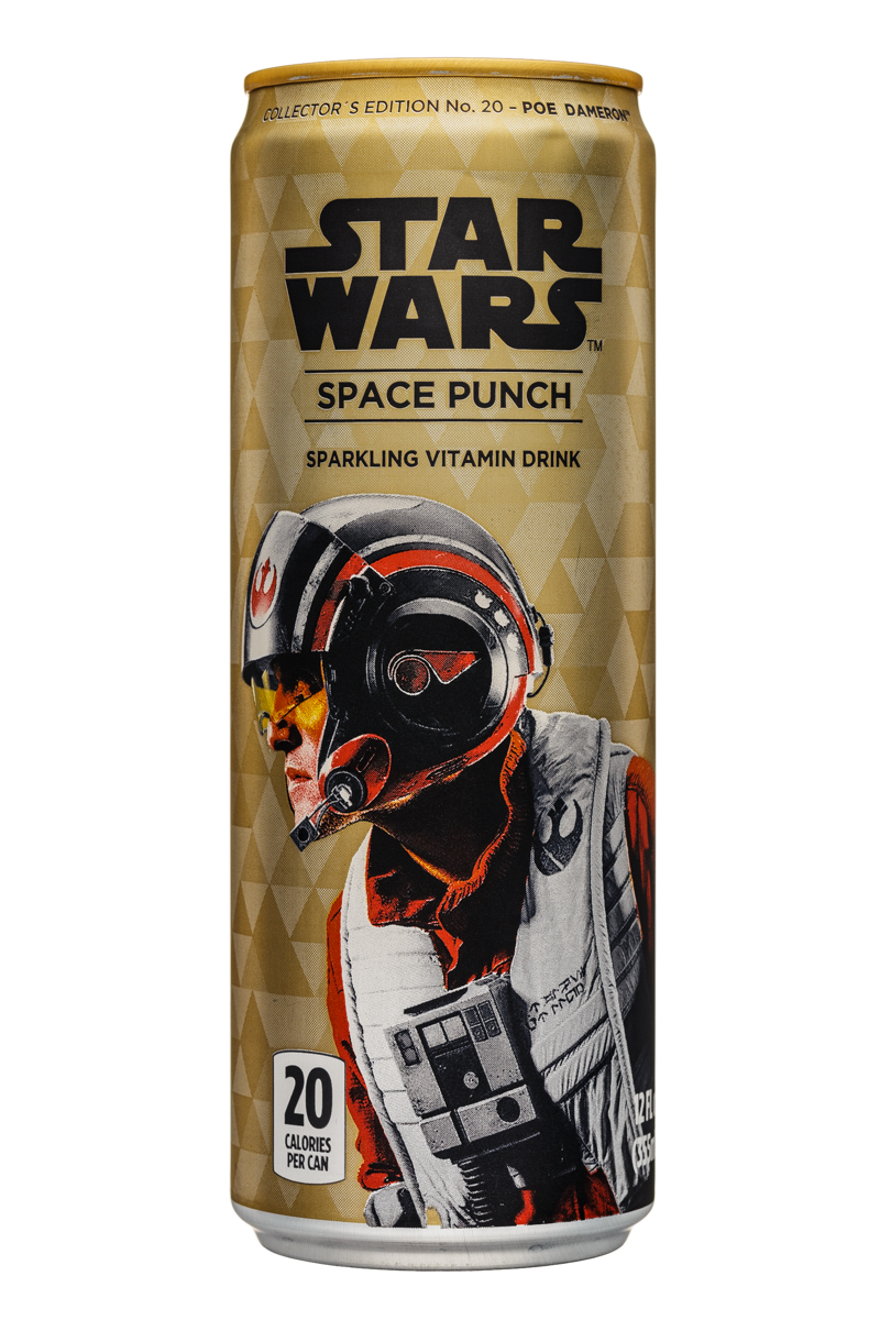 Star Wars Space Punch: StarWars-12oz-SpacePunch-PoeDameron-Front