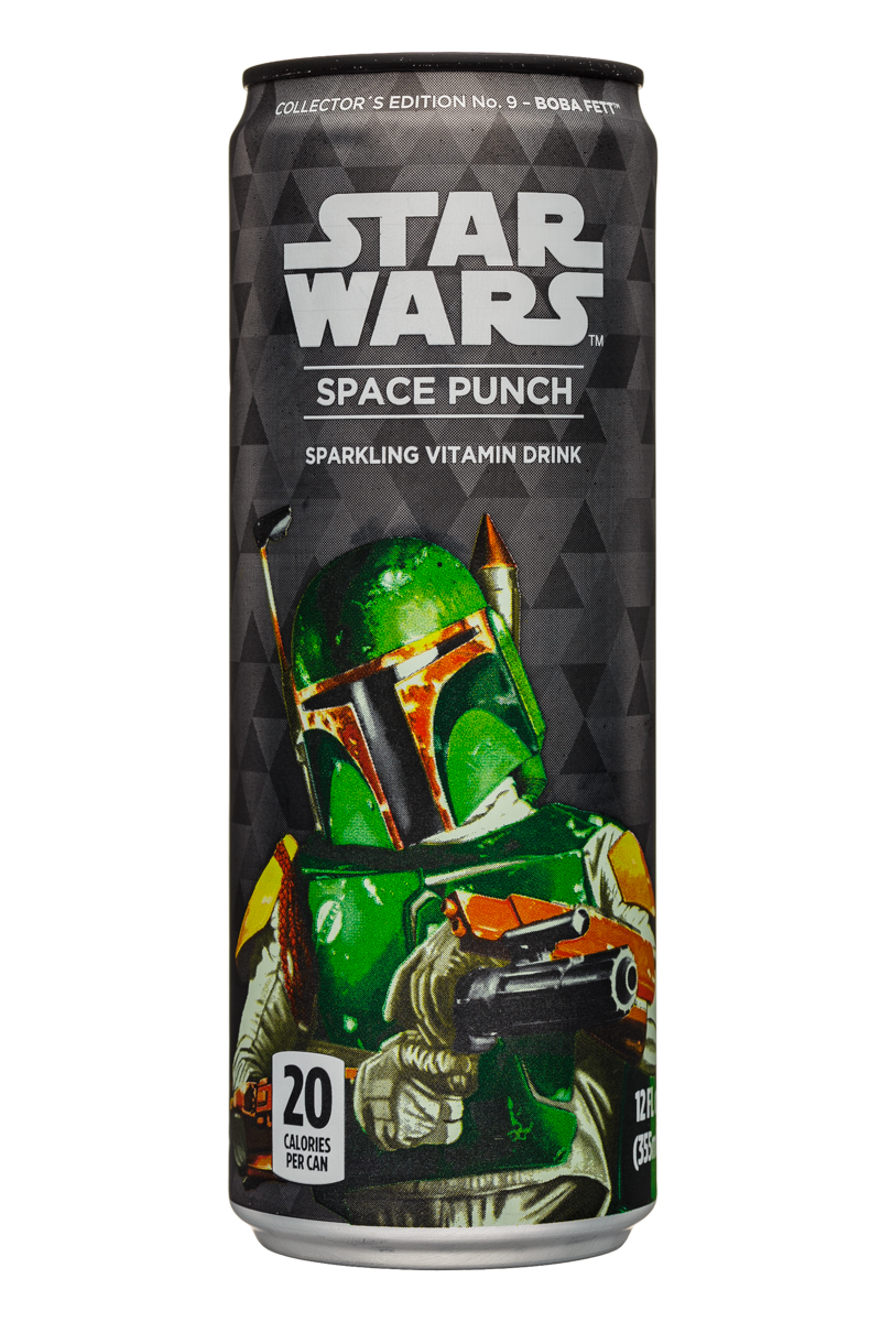 Star Wars Space Punch: StarWars-12oz-SpacePunch-BobaFett-Front