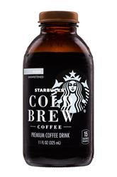 Black- Cold Brew Coffee