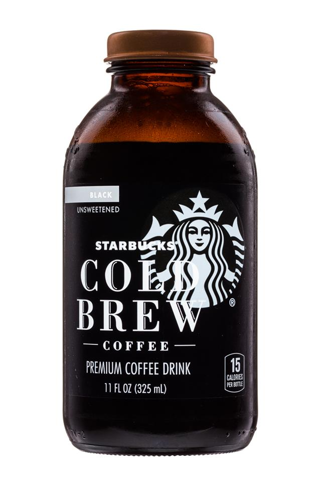 Starbucks Cold Brew Coffee: Starbucks-ColdBrew-11oz-Black-Front