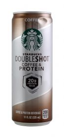 Starbuck Double Shot Coffee & Protein: Starbucks Coffee Front