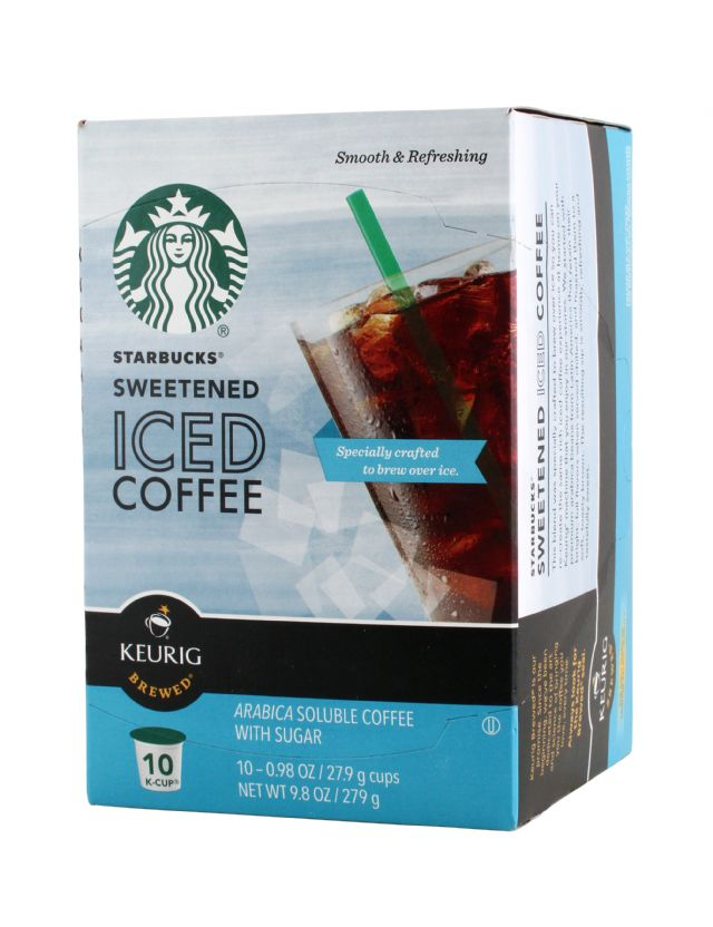 Starbucks Iced Coffee: Starbucks IceCoffee Front