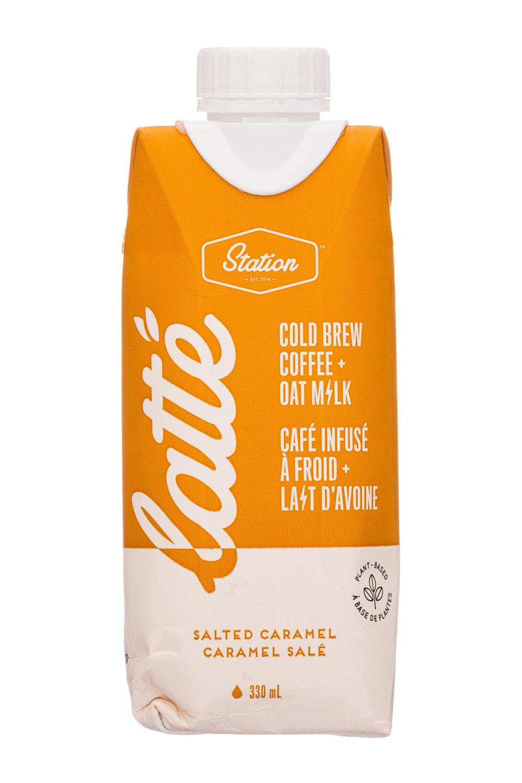 Latte Salted Caramel: Cold Brew Coffee + Oat Milk