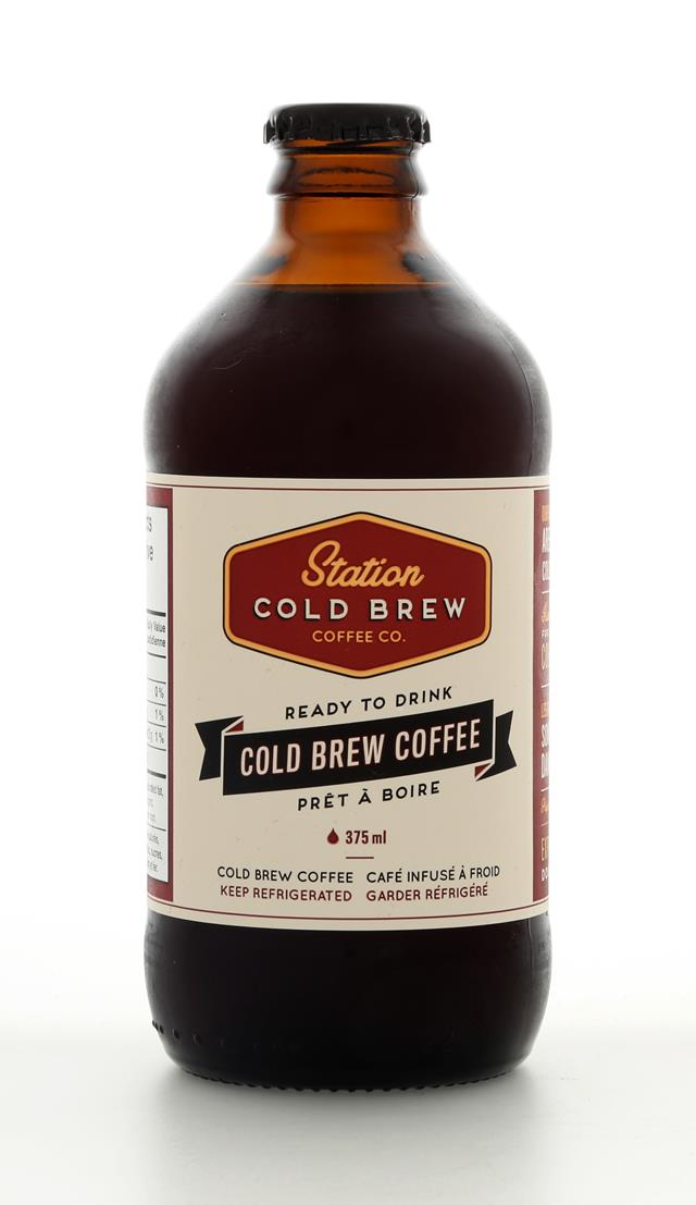 Station Cold Brew Coffee Co: StationColdBrew CBC Front