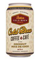 Station Cold Brew Coffee Co: StationCoffeeCo-12oz-NitroColdBrew-CocoNoixDeCoco-Front