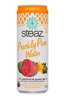 Steaz Prickly Pear: Steaz-12oz-PricklyPearWater-StarfruitGreenTea-Front