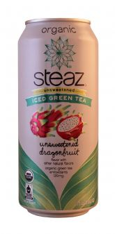 Unsweetened Green Tea with Dragonfruit