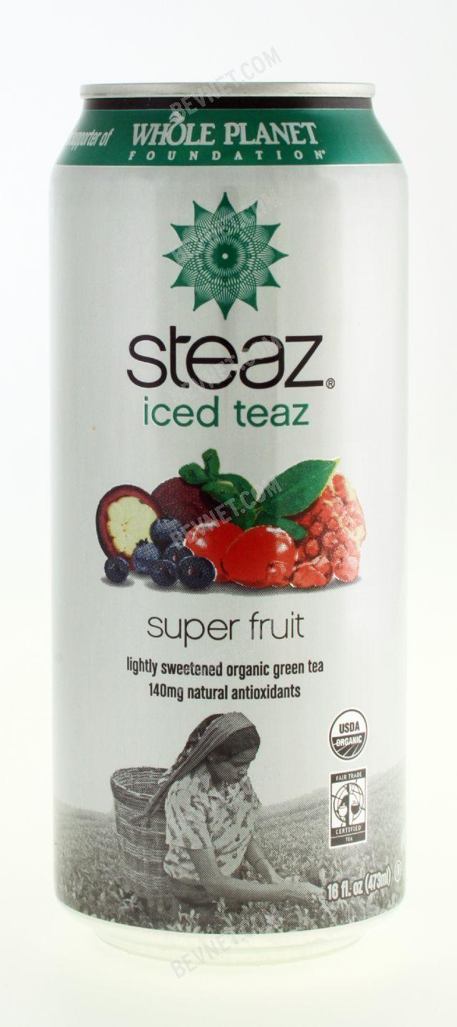 Steaz Organic Iced Teaz: