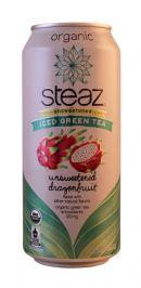Steaz Organic Iced Teaz: Steaz Dragon Front
