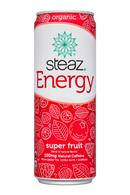 Steaz Energy: Steaz-12oz-Energy-SuperFruit-Front
