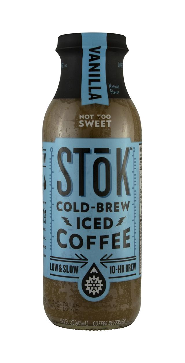 StoK Cold-Brew Iced Coffee: Stok Vanilla Front