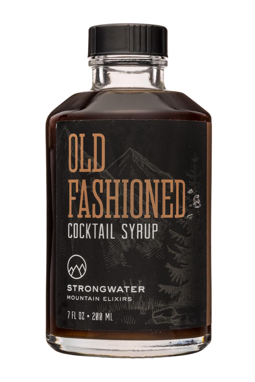 Strongwater Mountain Elixirs: MountainElixers-7oz-OldFashionedSyrup-Front