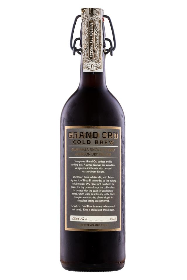 Stumptown Coffee Roasters: Stumptown-GrandCru-Bourbon-Facts
