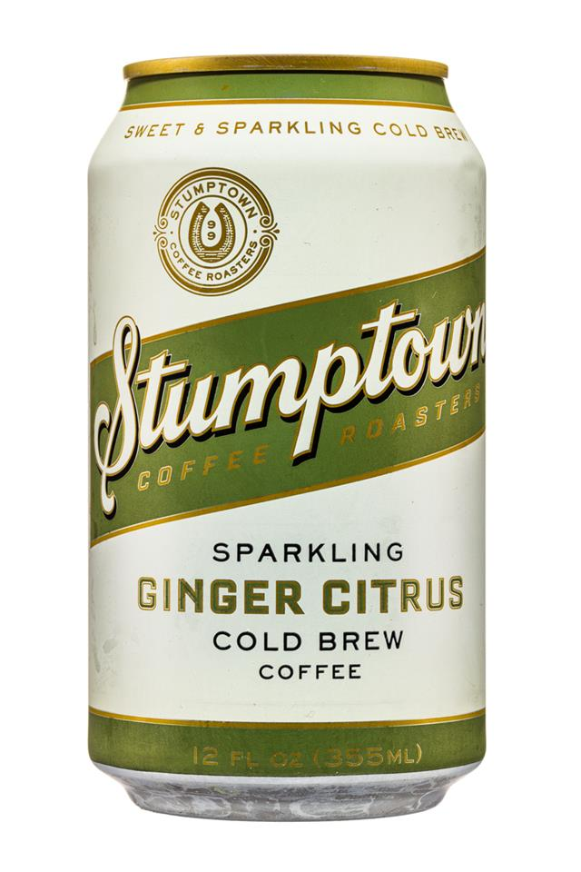 Stumptown Coffee Roasters: Stumpton-12oz-ColdBrew-Sparkling-GingerCitrus-Front