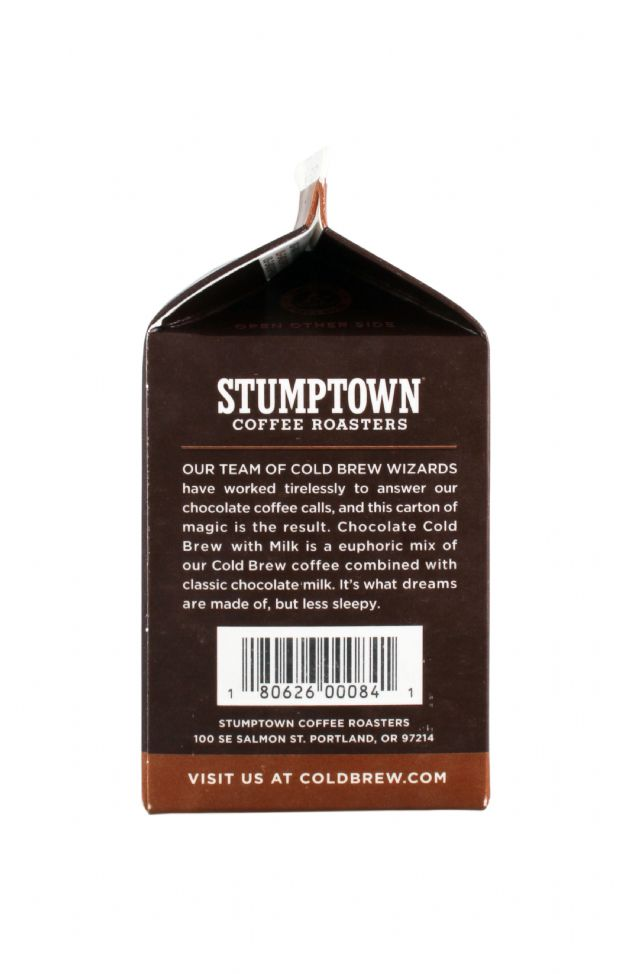 Stumptown Coffee Roasters: StumptownColdBrew Chocolate Facts2