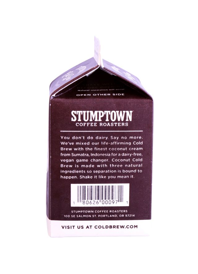Stumptown Coffee Roasters: Stumptown Coconut Side