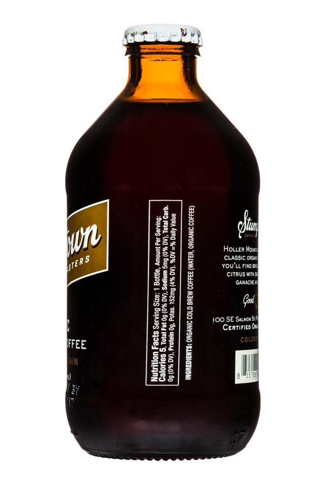 Stumptown Coffee Roasters: Stumptown-OrganicColdBrew-10oz-Facts