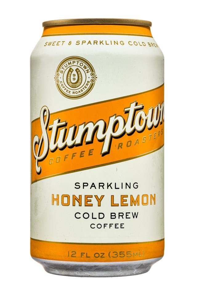 Stumptown Coffee Roasters: Stumpton-12oz-ColdBrew-Sparkling-HoneyLemon-Front