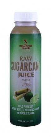 Raw Sugarcane Juice with Lime