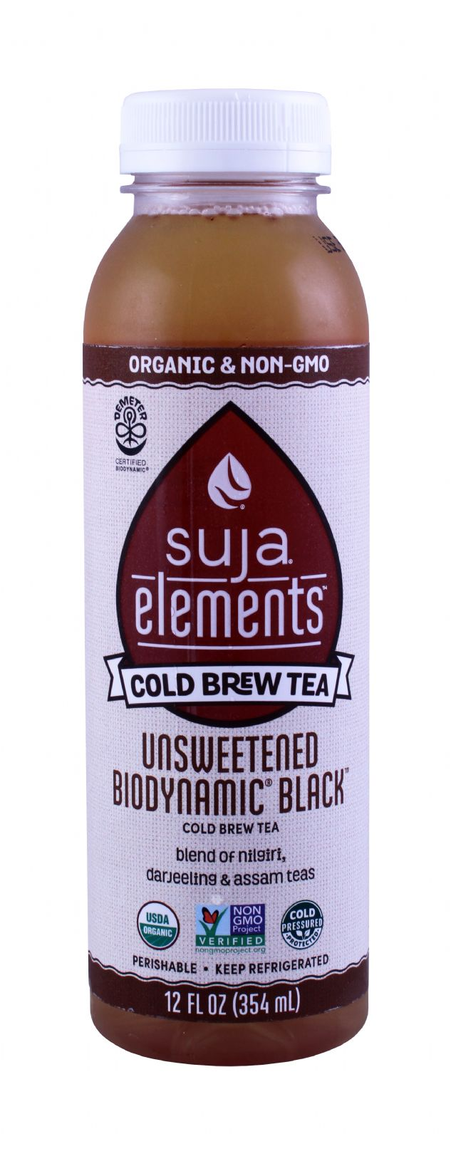 Suja Elements Cold Brew Tea: Suja Unsweetened Front