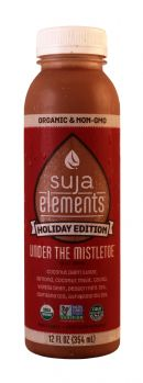 Suja Elements Holiday Edition: Suja UnderTheMistletoe Front
