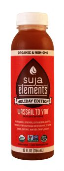 Suja Elements Holiday Edition: Suja WassailToYOU Front