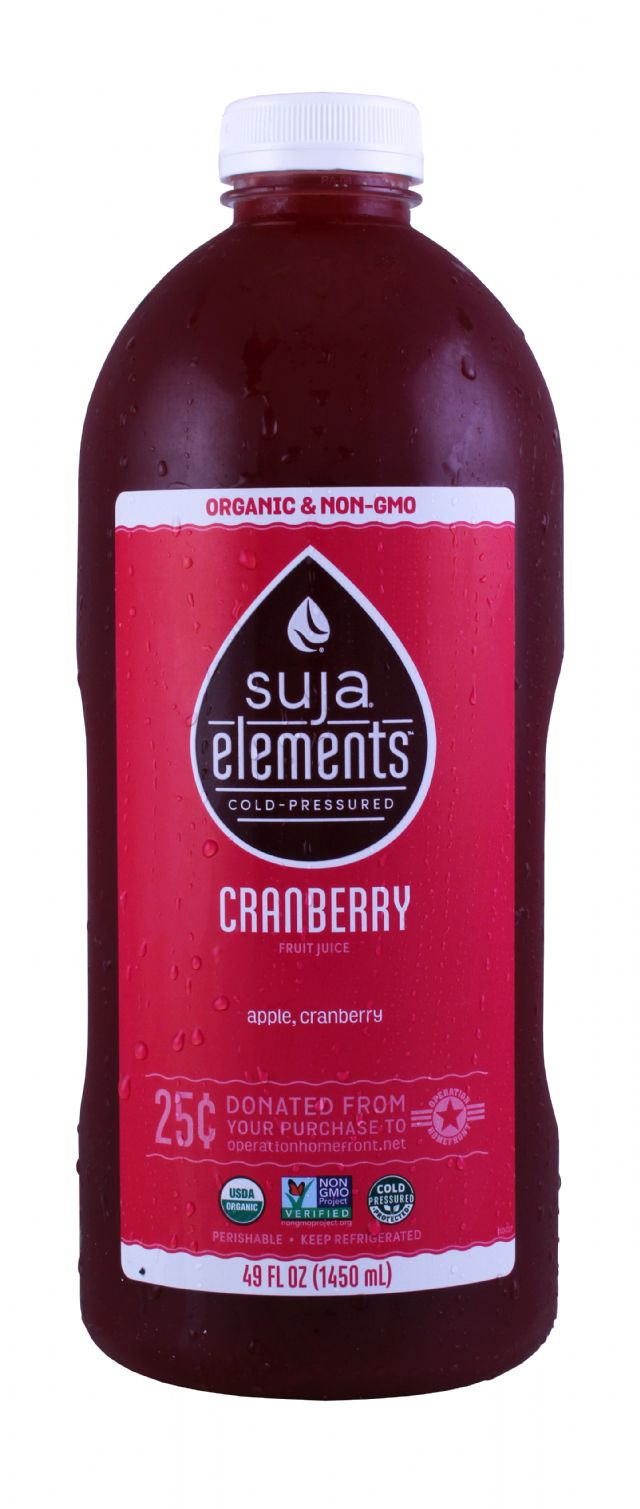 Suja Elements: SujaLG Cranberry Front