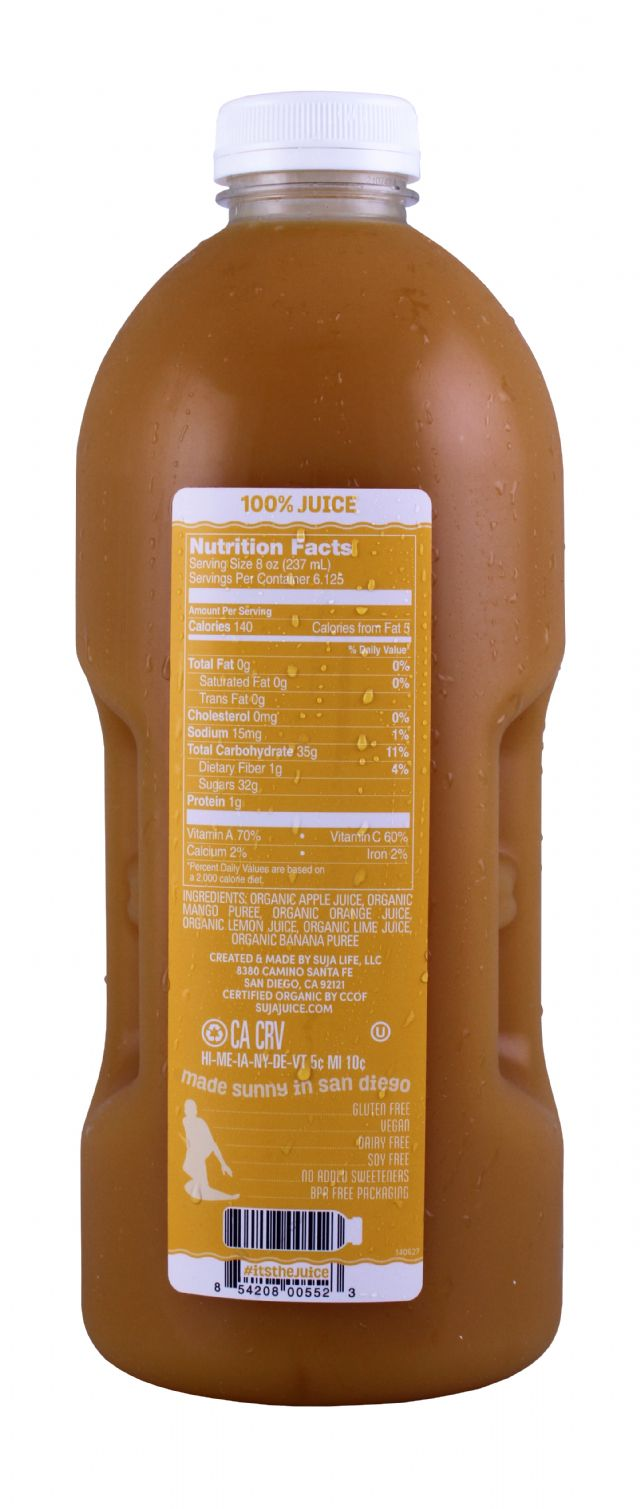 Suja Elements: SujaLG Mango Facts