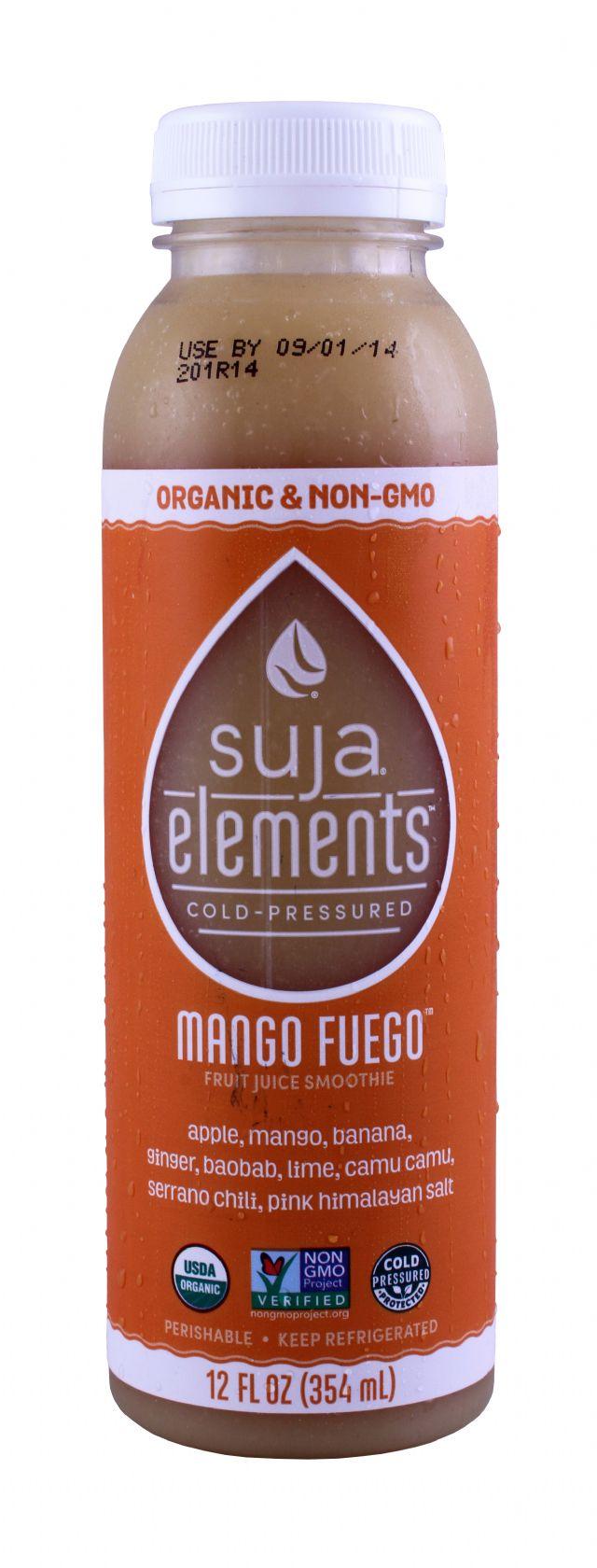 Suja Elements: Suja MangoFuego Front