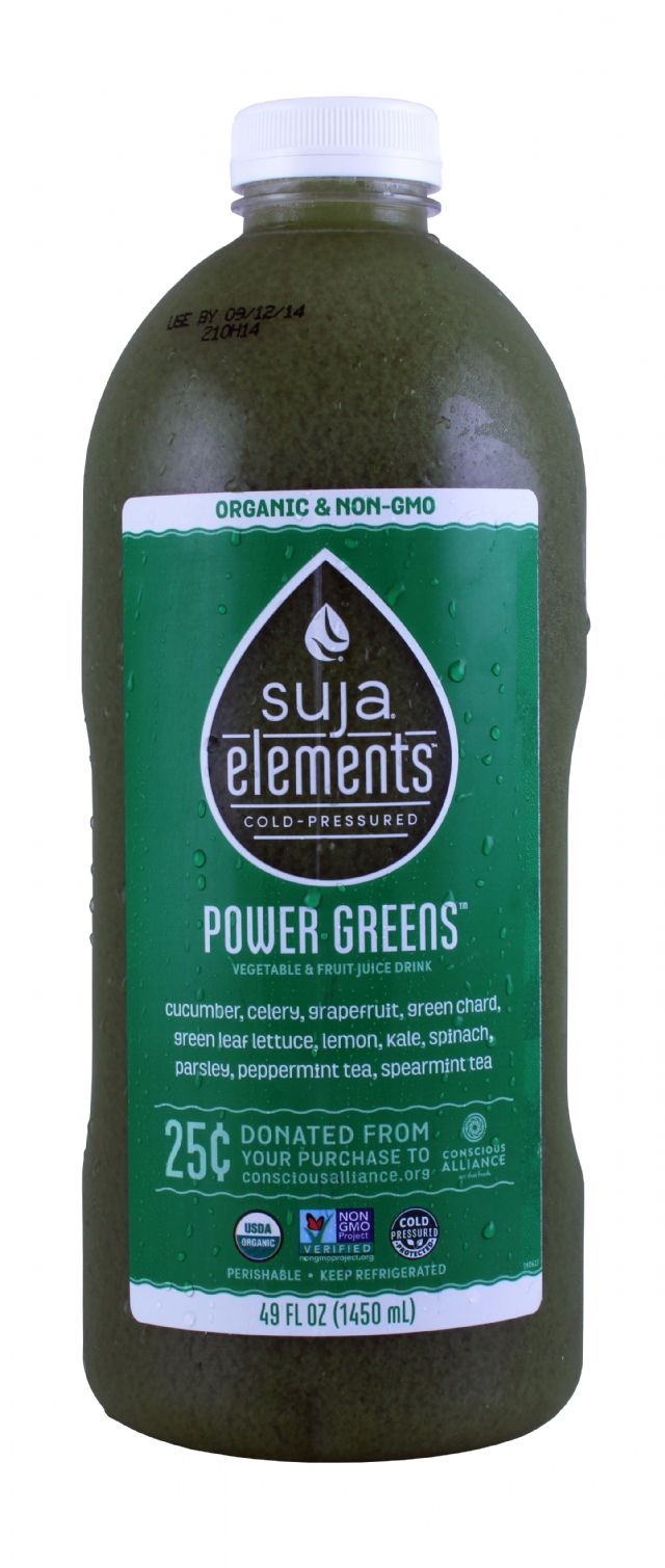 Suja Elements: SujaLG PowerGreens Front