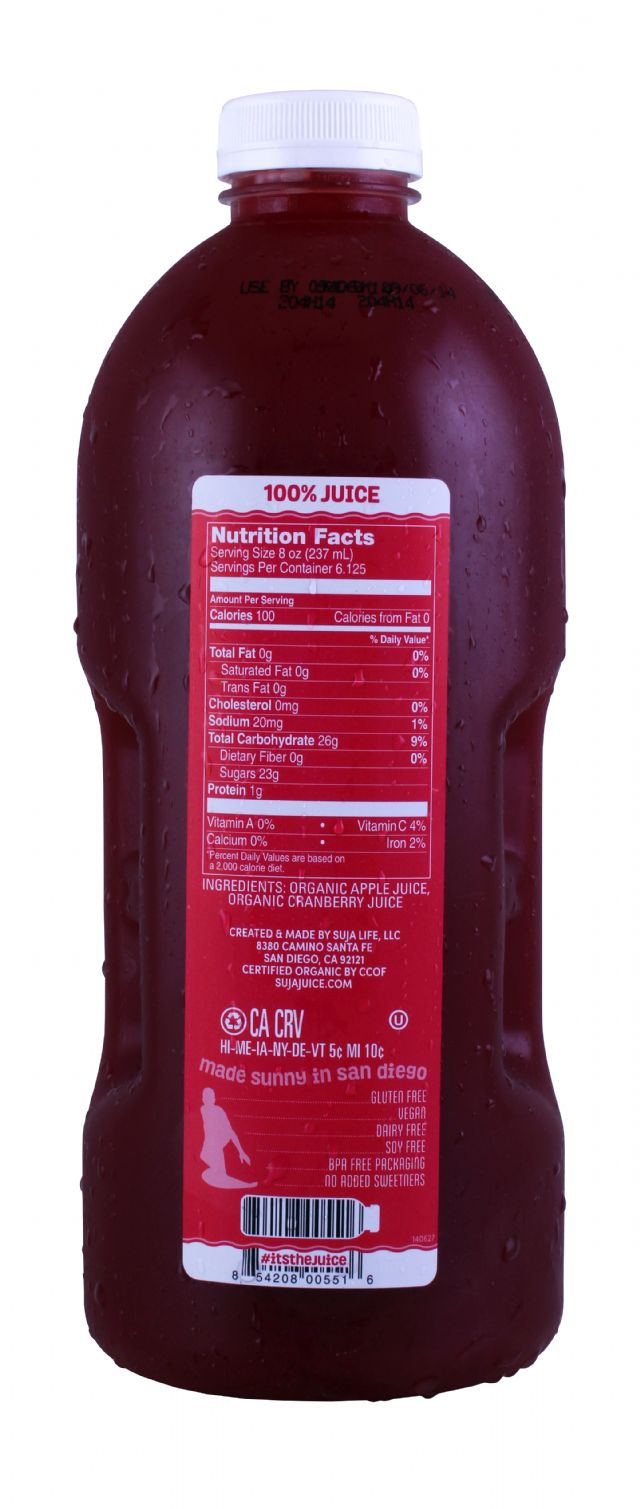 Suja Elements: SujaLG Cranberry Facts