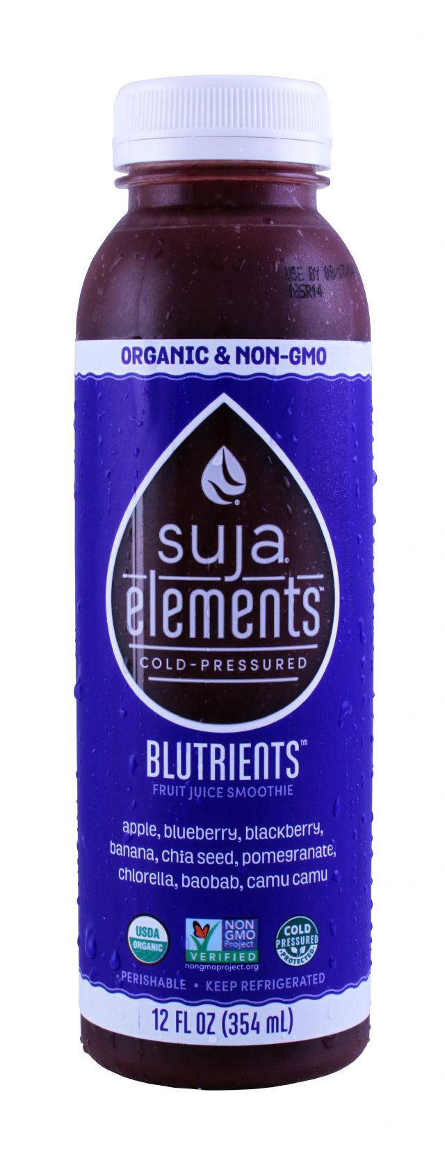 Suja Elements: Suja Bluetrients Front