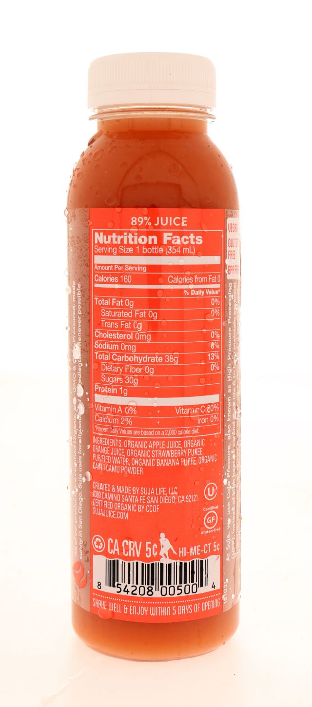 Suja Essentials: Suja BerryNana Facts
