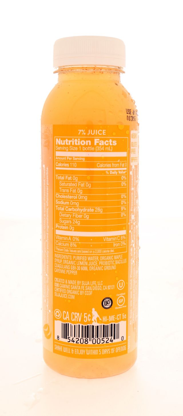 Suja Essentials: Suja Daybreak Facts