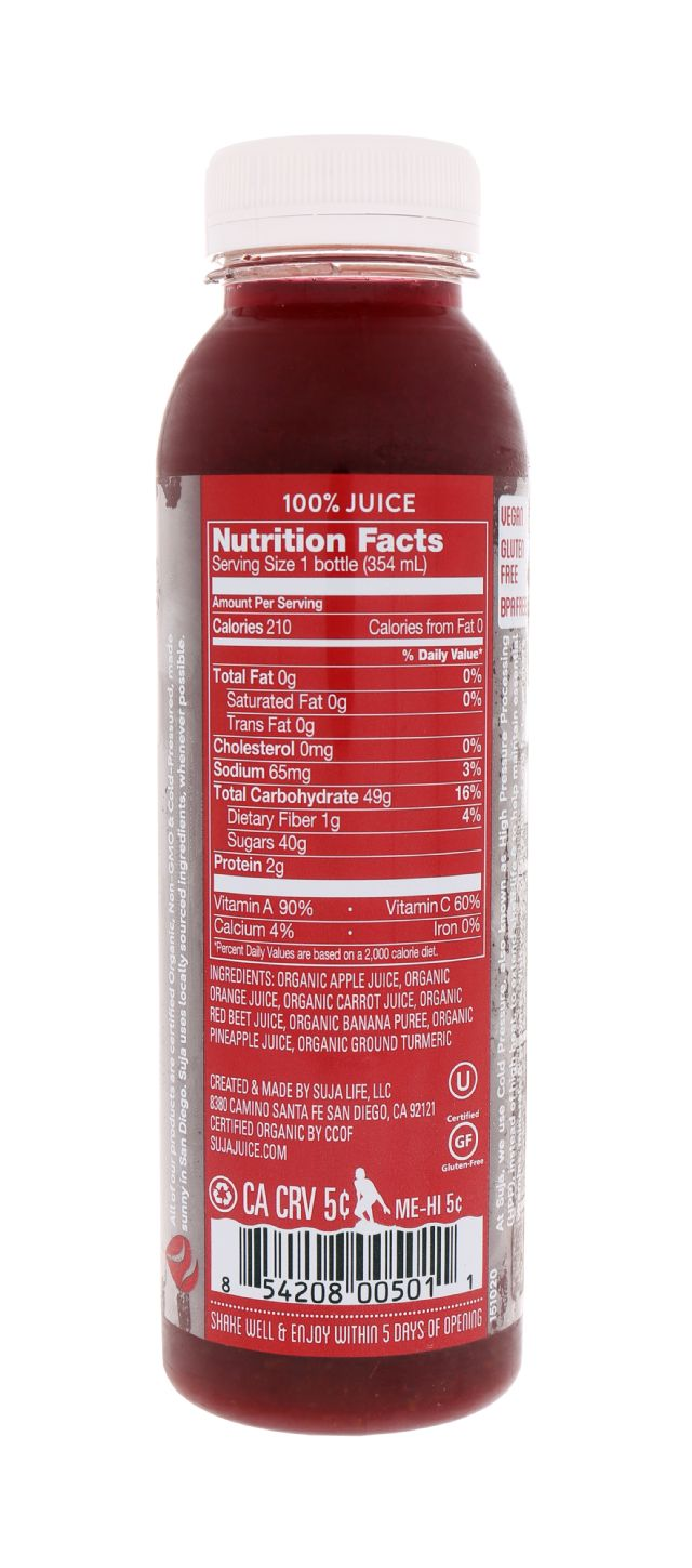 Suja Essentials: Suja SweetBeets Facts