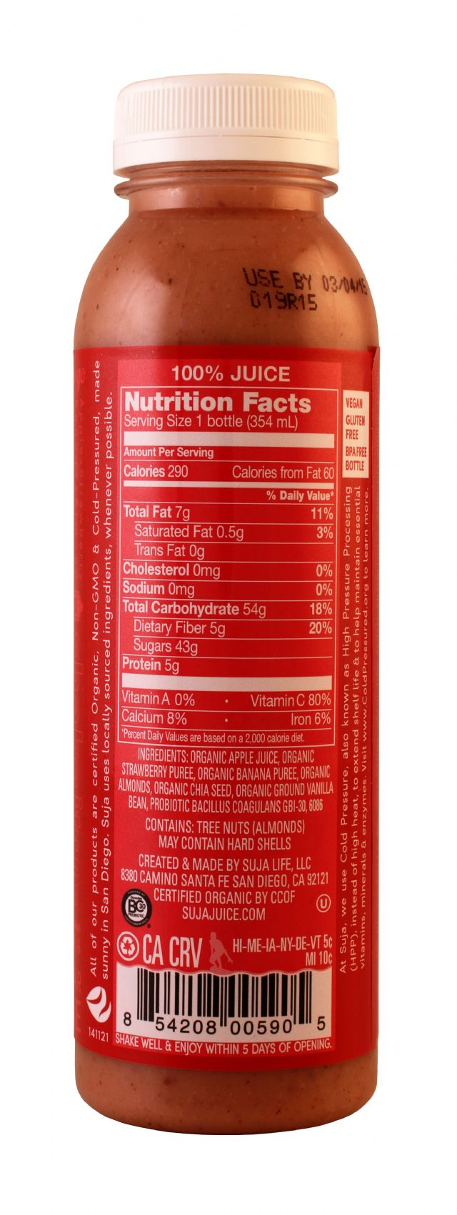 Suja Essentials: Suja Sunrise Facts