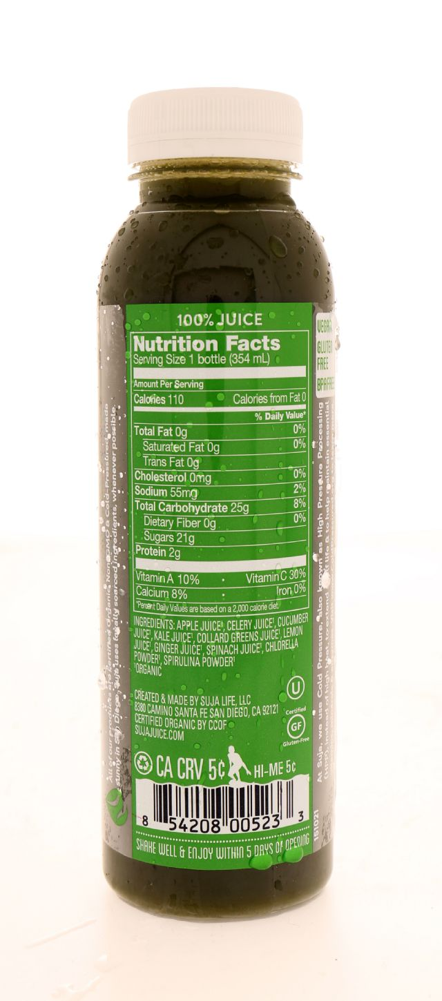 Suja Essentials: Suja NoonGreens Facts