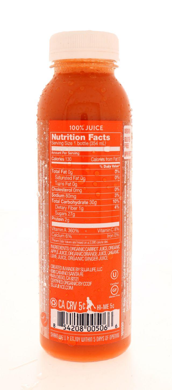 Suja Essentials: Suja CarrotCrush Facts