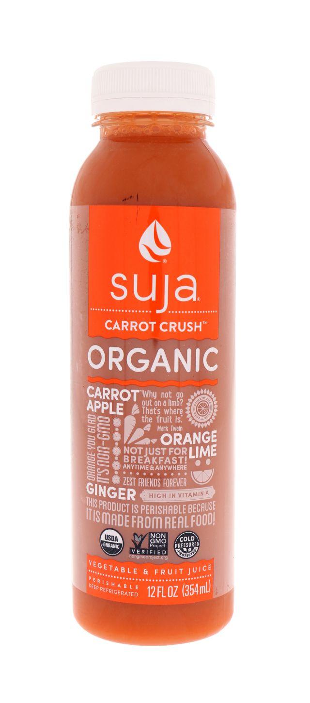 Suja Essentials: Suja Carrot Front
