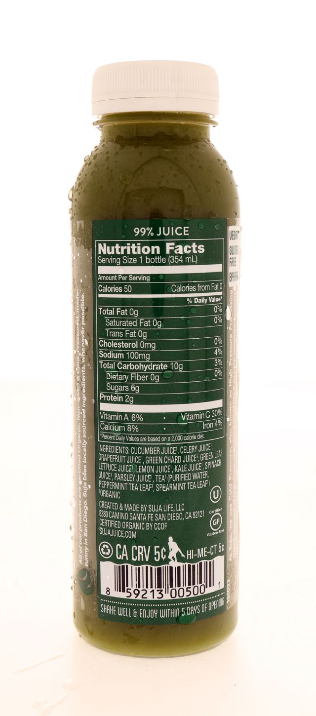 Suja Essentials: Suja UberGreens Facts