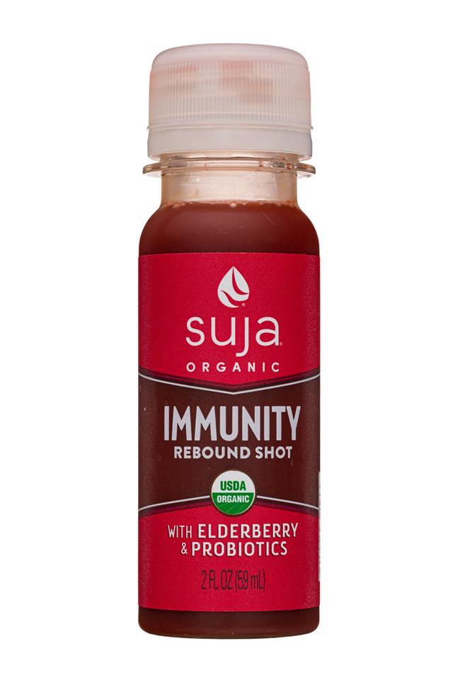 Suja Wellness Shots: Suja-2oz-2020-Shot-Immunity-Elder-Front