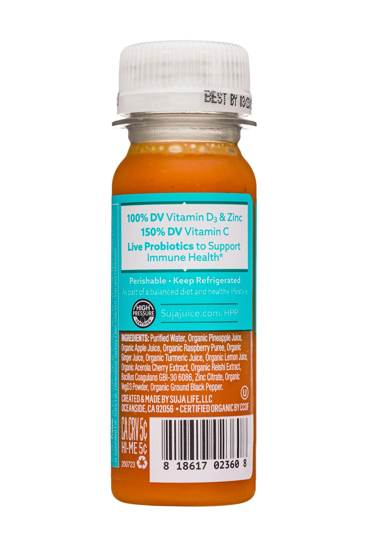 Suja Wellness Shots: Suja-2oz-2020-Shot-VitaminDZinc-Facts