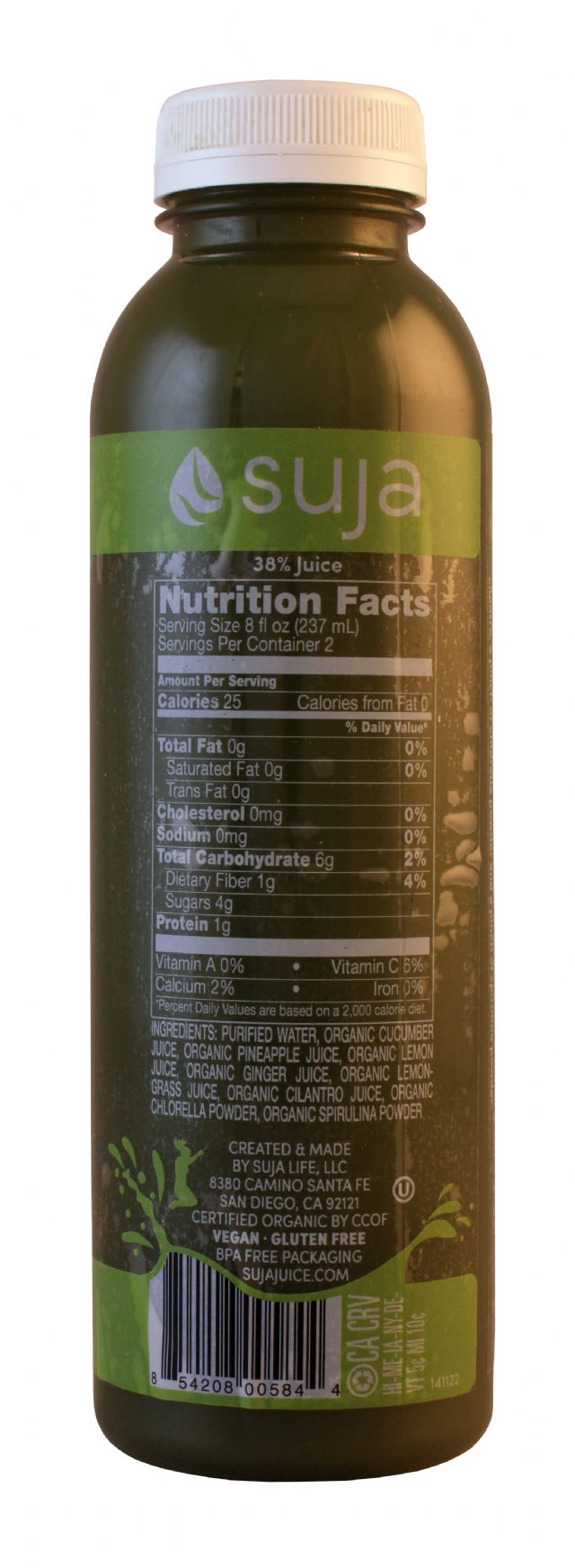 Suja Classic: Suja Revive Facts