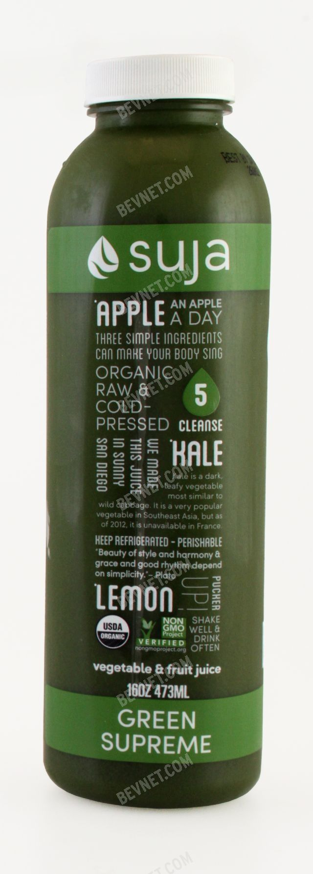 Green Supreme Suja Classic Bevnet Com Product Review